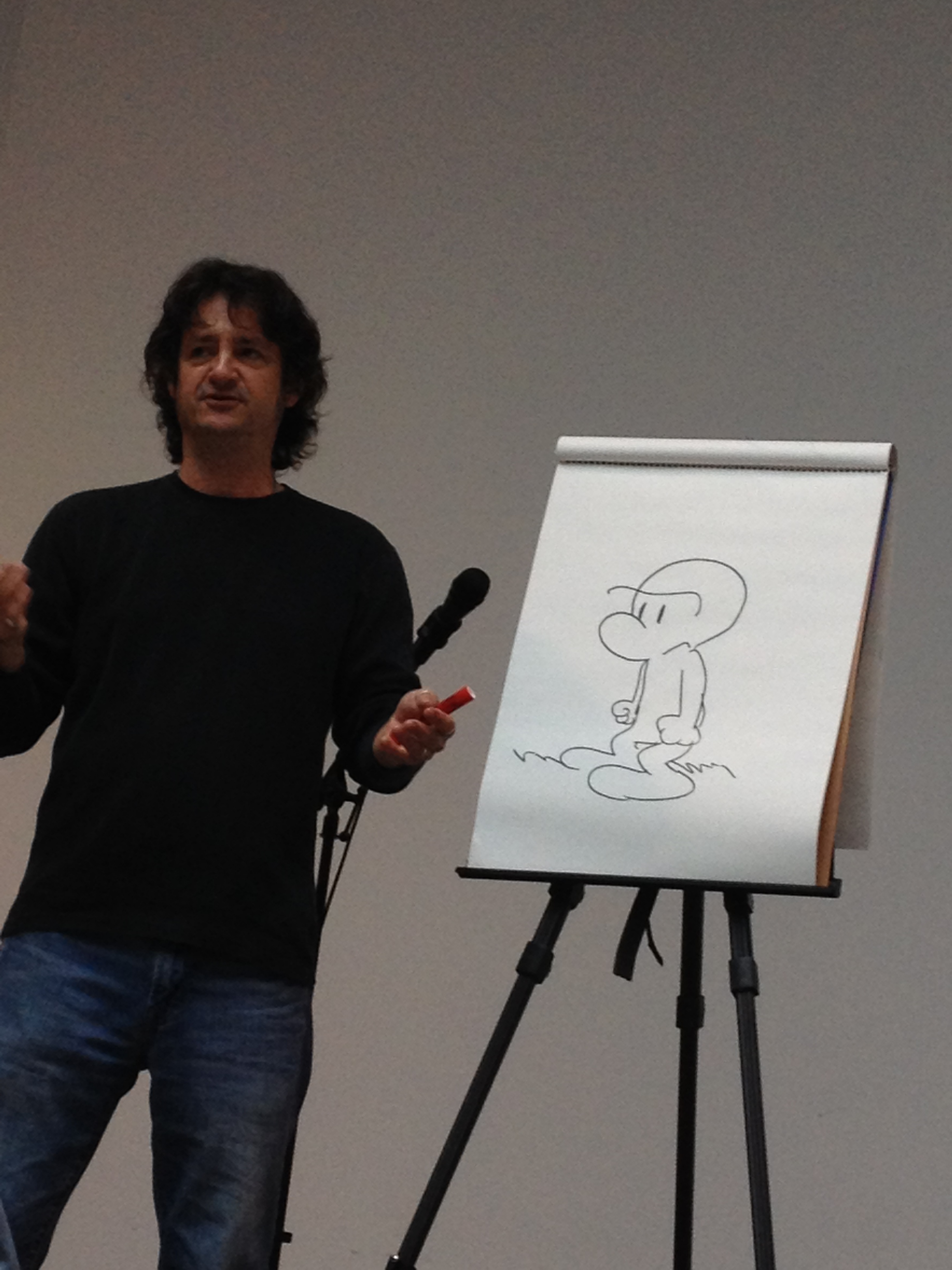 Jeff Smith Books Blog: Meeting Jeff Smith And Kazu Kibuishi